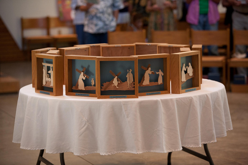 Stations of the Cross Dedication